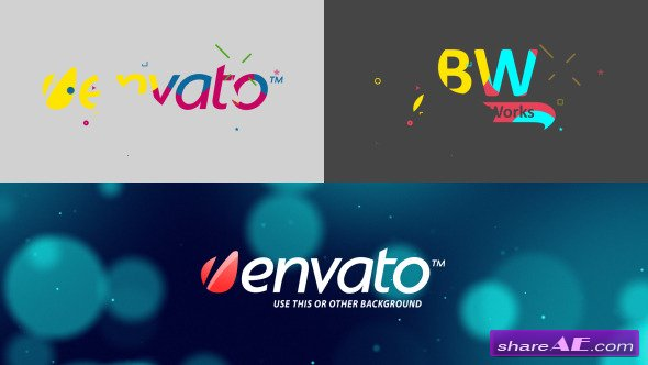 Paint Blobs Logo Opener - After Effects Project (Videohive)