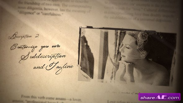 Wedding Album 8492909 - After Effects Project (Videohive)