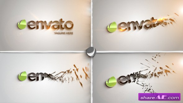 Clean Part Logo Intro - After Effects Project (Videohive) » free ...