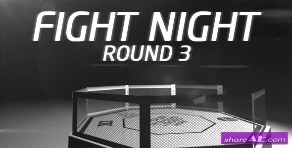 Fight Night - Round 3 - After Effects Project (Videohive)