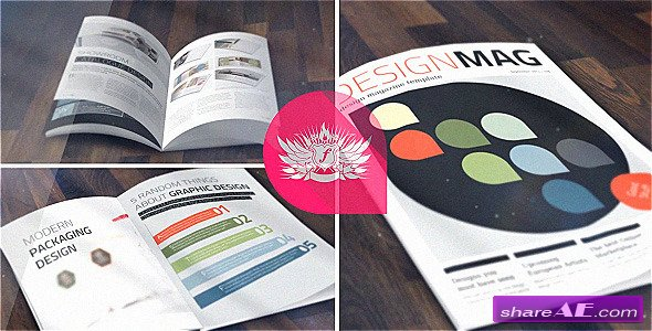 Magazine Mock-Up KIT - After Effects Project (Videohive)