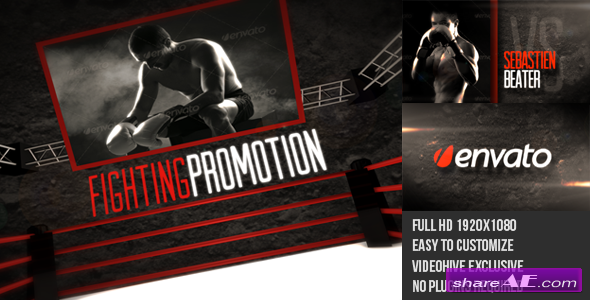 Fighting Sports Promotion - After Effects Project (Videohive)