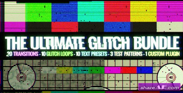 The Ultimate Glitch Bundle - After Effects Project (Videohive)