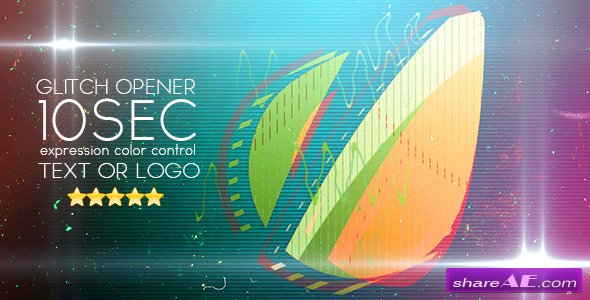 Glitch Opener - After Effects Project (Videohive)