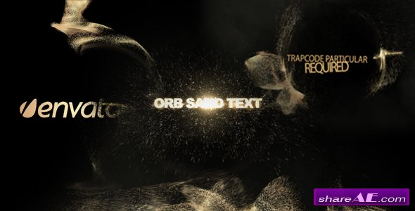 Orb sand intro 3 in 1 - After Effects Project (Videohive)