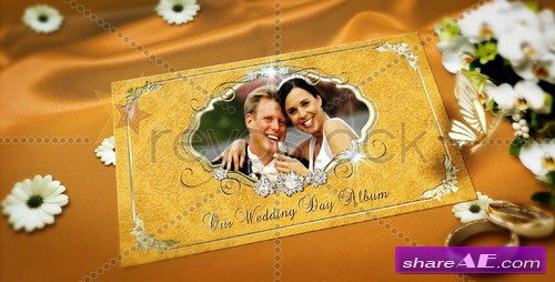 Wedding Memories Popping Album - After Effects Project (RevoStock)