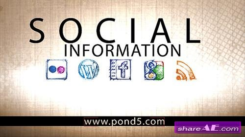 Social Information - After Effects Project (Pond5)