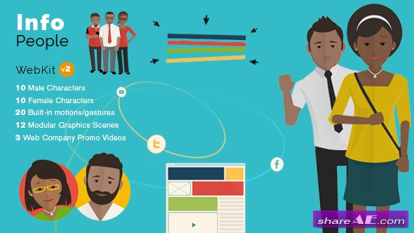InfoPeople - Web Kit - After Effects Project (Videohive)