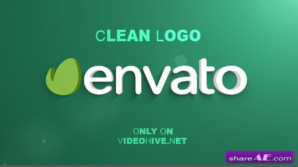 Clean Logo (4 in 1) - After Effects Project (Videohive)