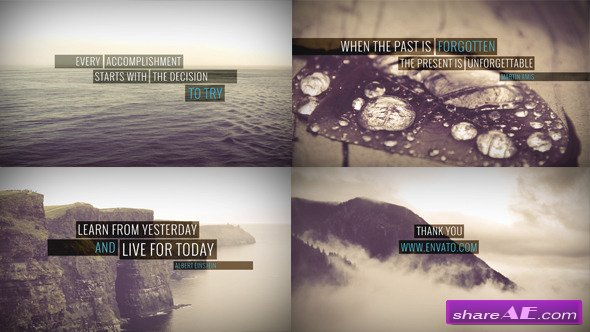 Minimal Quotes - Image/Video - After Effects Project (Videohive)