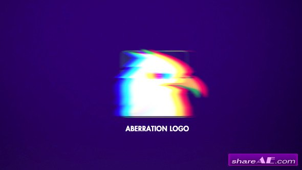 Aberration Logo - Apple Motion (Videohive)