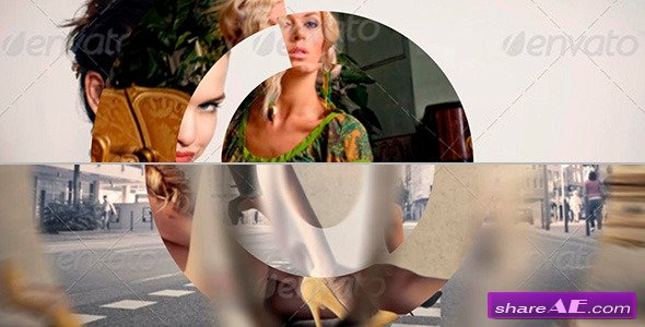 15 Fashion Circle Transitions - After Effects Project (Videohive)