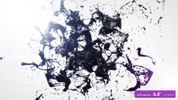 Black Liquid Logo Reveal - After Effects Project (Videohive)