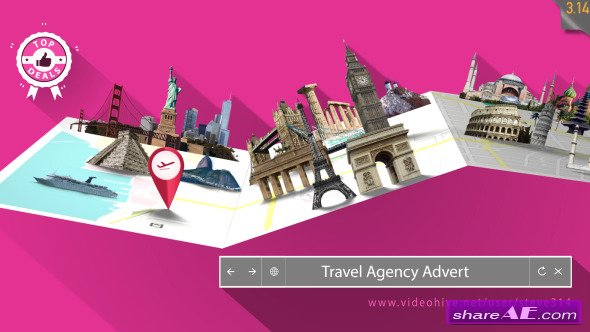 Travel Agency Advert - After Effects Project (Videohive)