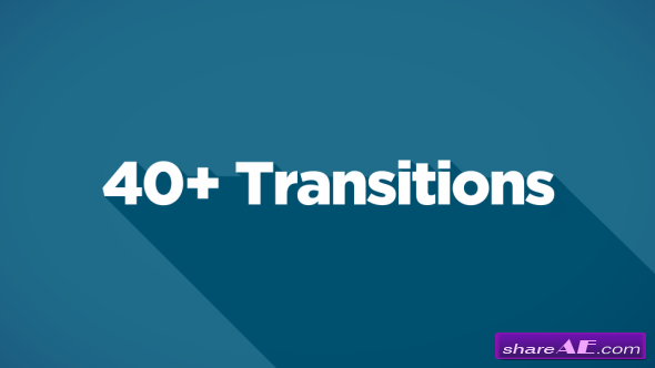 40+ Transitions - Motion Graphics (Videohive)