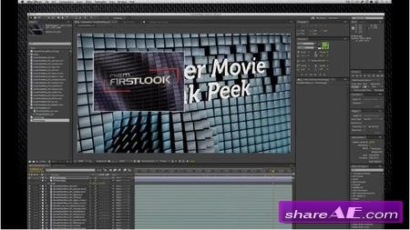 Creating Movie Trailer 'First Look' Graphics with Cinema 4D and After Effects (SkillFeed)