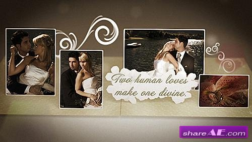 Wedding Album After Effects Intro After Effects Project