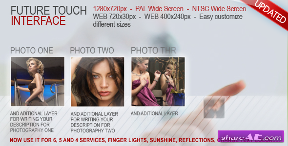Future Touch Interface - After Effects Project (Videohive)