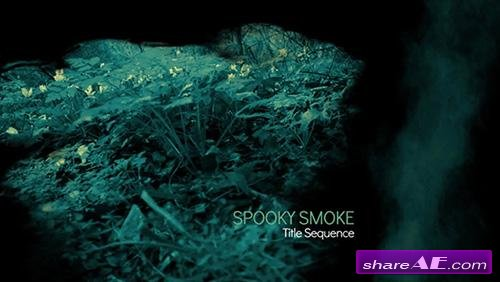 Spooky Smoke Intro - After Effects Project (Videoblocks)