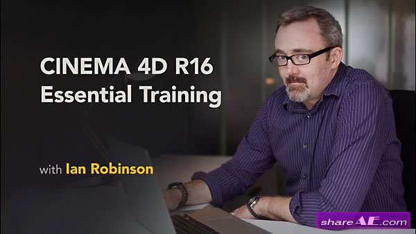 CINEMA 4D R16 Essential Training (Lynda) » free after effects