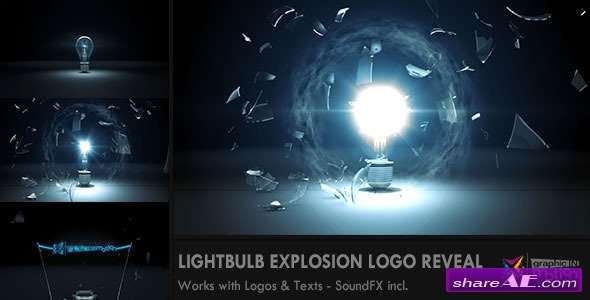 Videohive Colorful Explosion Logo » free after effects