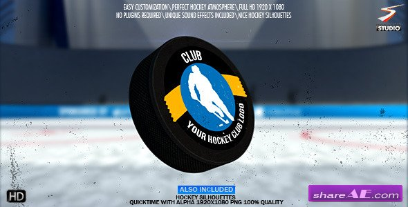 Hockey Logo Opener - After Effects Project (Videohive)