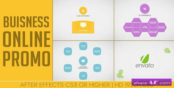 Business/Company Online Promo - After Effects Project (Videohive)