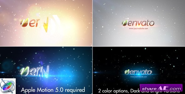 Simple Quick Logo-Motion Project - Apple Motion Templates (Videohive)