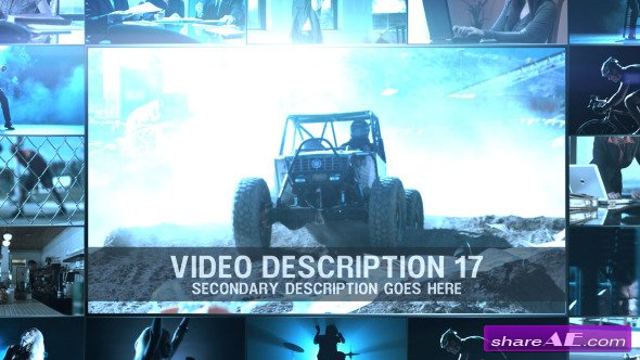 Video Wall Promo - After Effects Project (Videohive)