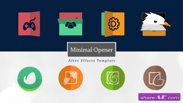 Minimal Logo Opener - After Effects Project (Videohive)