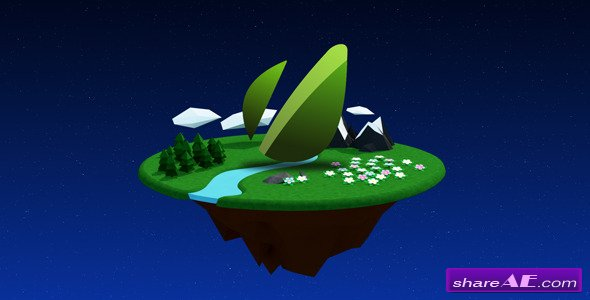 Forest Planet Logo - After Effects Project (Videohive)