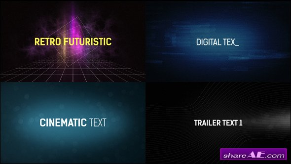 35 Text Presets Vol.2 - After Effects Presets (Videohive)