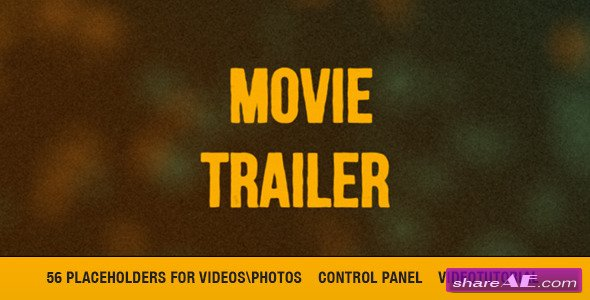 cinematic movie trailer titles after effects project videohive free after effects. Black Bedroom Furniture Sets. Home Design Ideas