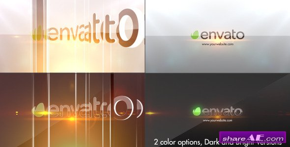 Simple Glossy Slider Logo - After Effects Project (Videohive)