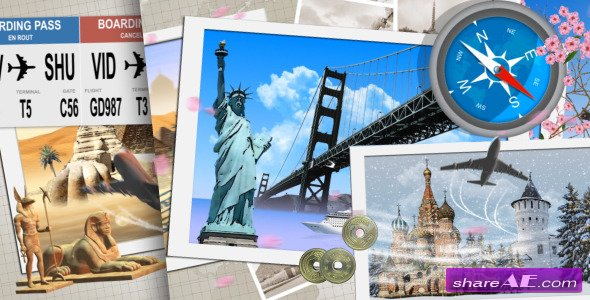 My Travel Tv Pack After Effects Project Videohive