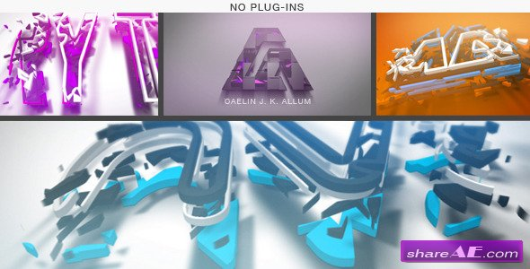 Logo Construction - After Effects Project (Videohive)