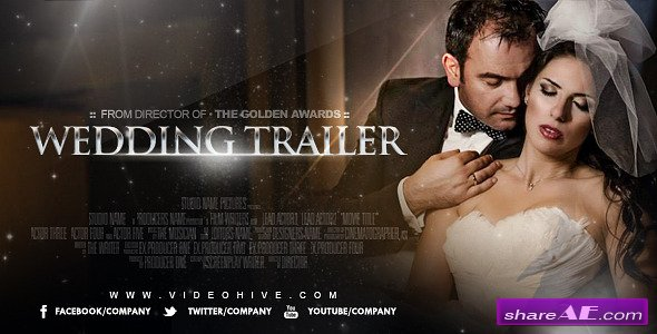 Wedding Trailer 8278783 - After Effects Project (Videohive)