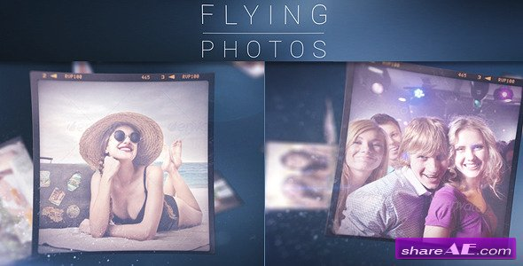 Flying Photos - Photo Gallery - After Effects Project (Videohive)