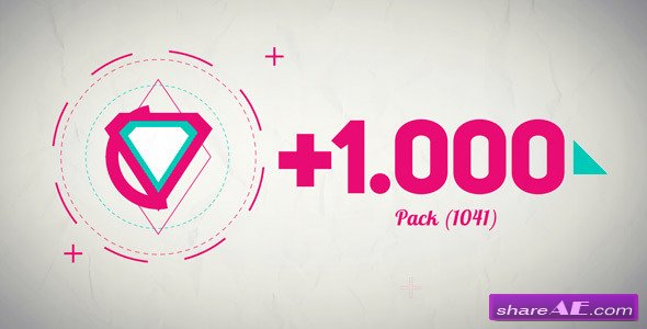 Basic Shape Animation Pack +1000 - After Effects Project ...