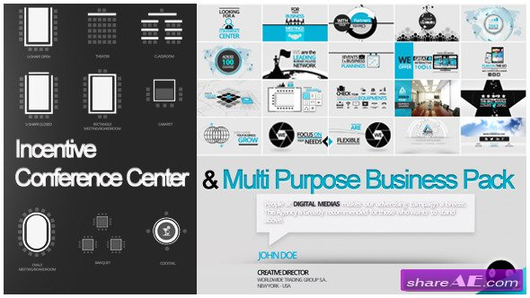 ICC Multi Purpose Business Video Pack - After Effects Project (Videohive)