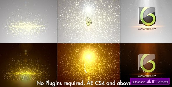Elegant Glitters Logo - After Effects Project (Videohive)