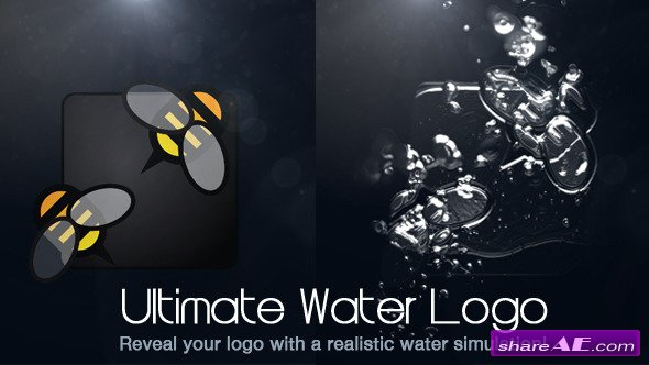 Ultimate Water Logo - After Effects Project (Videohive)