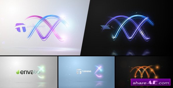 Twisting Streaks Logo - After Effects Project (Videohive)