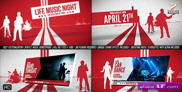 Music Festival - After Effects Project (Videohive)