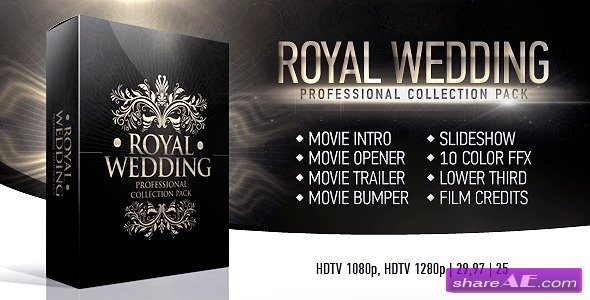 Royal Wedding Package - After Effects Project (Videohive) » free ...