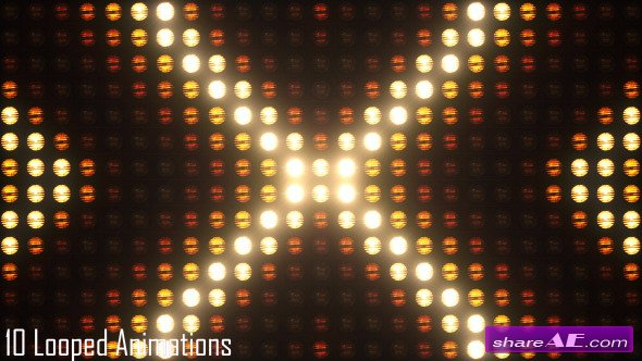 Blinking Lights VJ Pack 1 - Motion Graphics (Videohive)