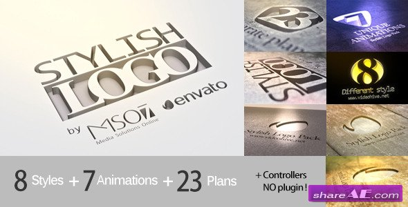 Stylish Logo Pack - After Effects Project (Videohive)