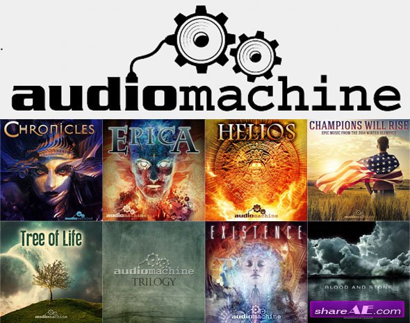 Audiomachine - Public Albums (8 Albums)