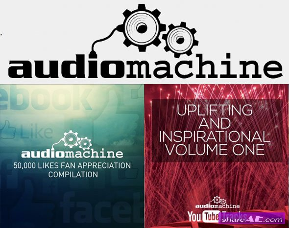 Audiomachine - Promo Albums (2 Albums)