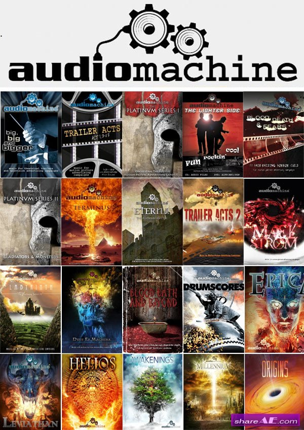 Audiomachine - Discography (23 Albums)